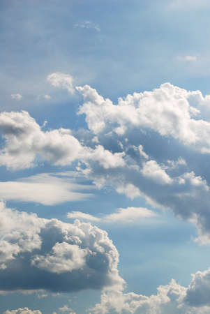 blue sky with clouds Stock Photo - 8580042