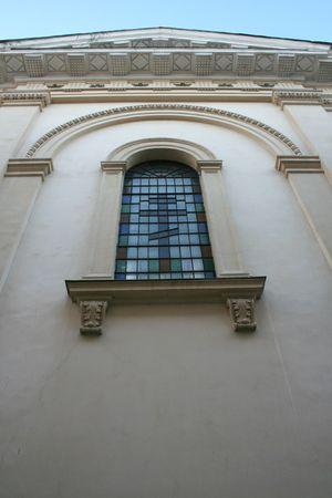 god box: stained-glass window