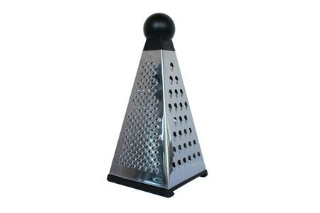 grater: Metal Grater Stock Photo