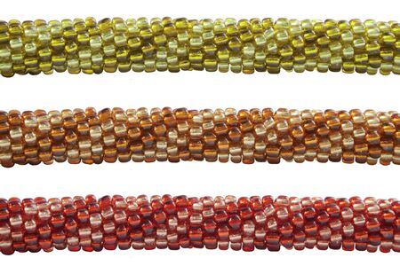 coloured bead bracelet Фото со стока
