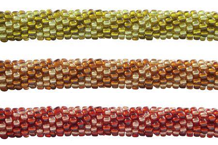 coloured bead bracelet