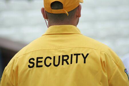 guarda de seguridad: Guardia de seguridad  Foto de archivo