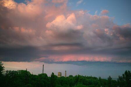 stormy sky photo