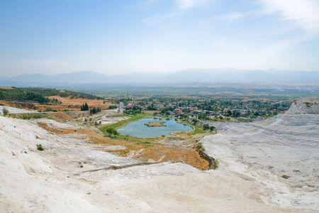 carbonates: Landscape of Pamukkale