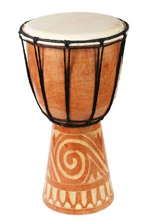 Original african djembe drum photo
