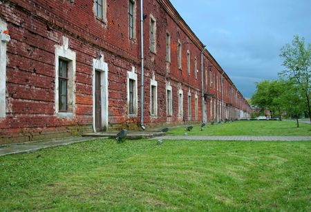 Brest Fortress Stock Photo