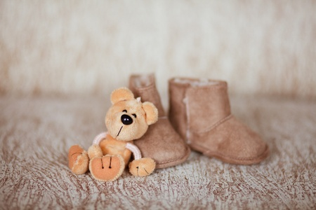 baby shoes Stock Photo - 9599568