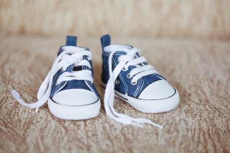 baby feet: baby shoes