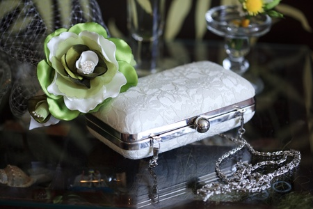 virginity: Wedding handbags of the bride