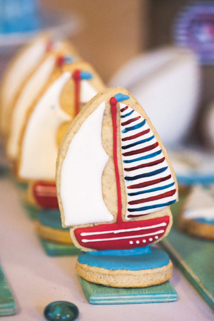 homemade style: Homemade cookies in marina style