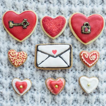 hart shaped: Valentine cookies