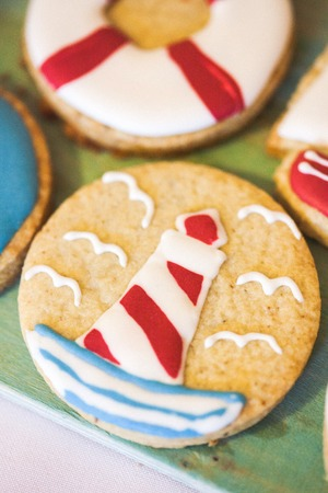 homemade style: Homemade sweets cookies in marina style