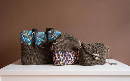 繊維女性ファッションハンドバッグ