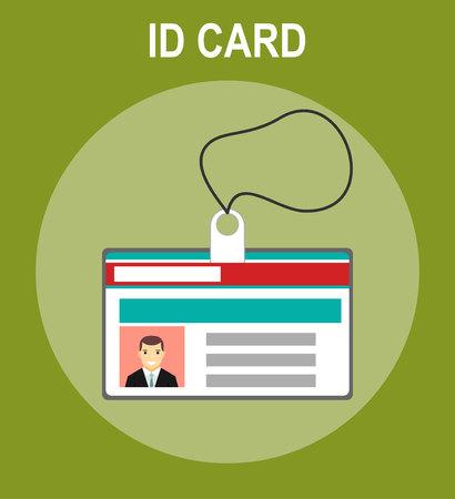 id card icon Vetores