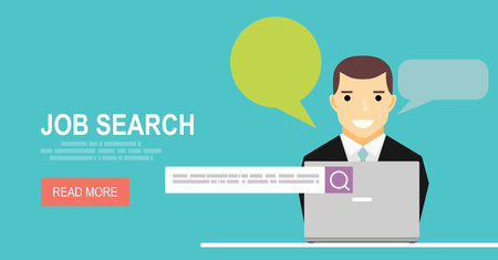 job searching: Concept of job searching.