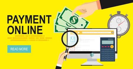 pay bills tax online receipt via computer