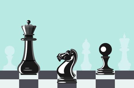 Chess - ilustracji wektorowych