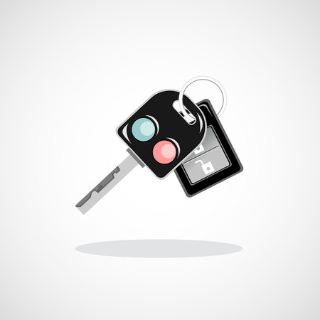 ignition: Car key with remote Illustration