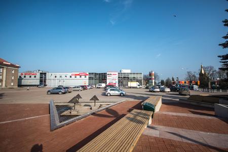 central square: piazza centrale della citt�