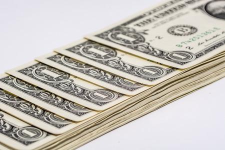 veer: veer of dollar bills