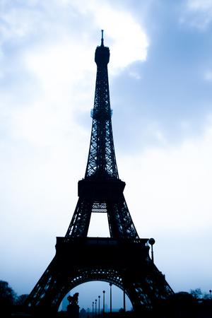 The Eiffel Tower - Paris Stock Photo