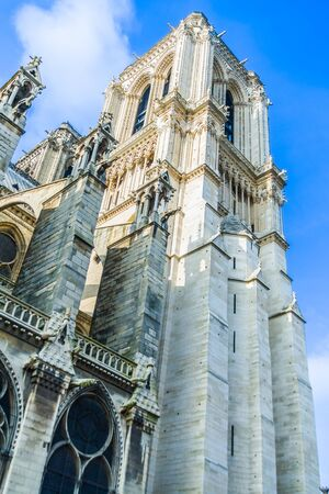 french ethnicity: Notre Dame Cathedral - Paris, France