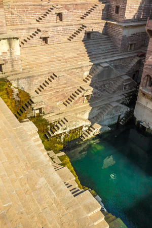 The Toor ji ka Baori (Toor ji stepwell) in Jodhpur, India