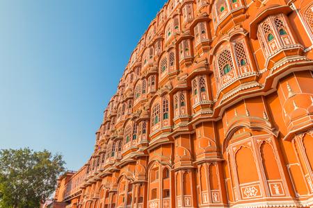Hawa Mahal - Palace of the Winds, Jaipur, India.