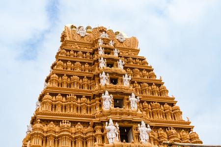The Srikantheswara Temple in South India.