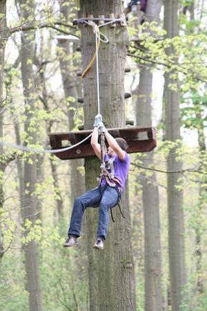 winch: Climbing winch