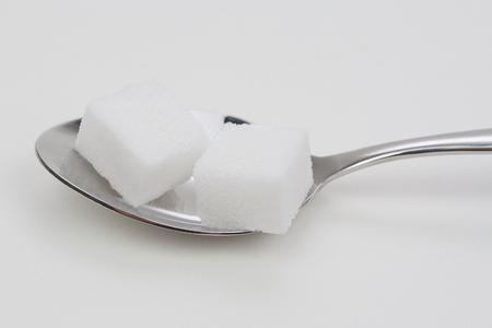 teaspoon: Teaspoon of sugar Stock Photo