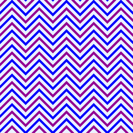 sequential: Aubergine blue zigzag pattern