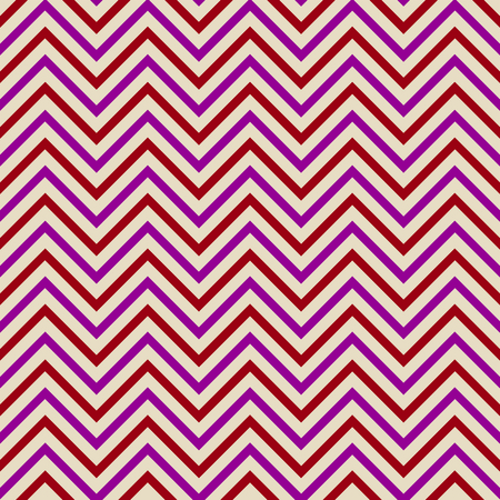 sequential: Zigzag pattern red aubergine Illustration