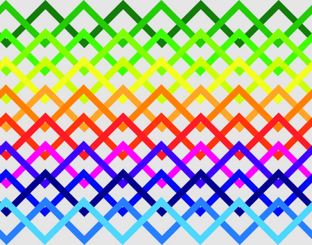 primary colors: zigzag pattern Illustration