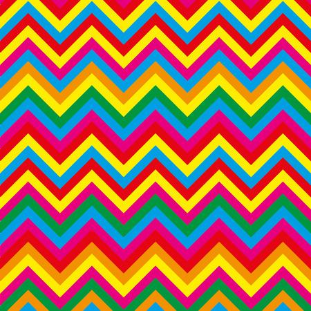 Summer pattern zig zag Vector