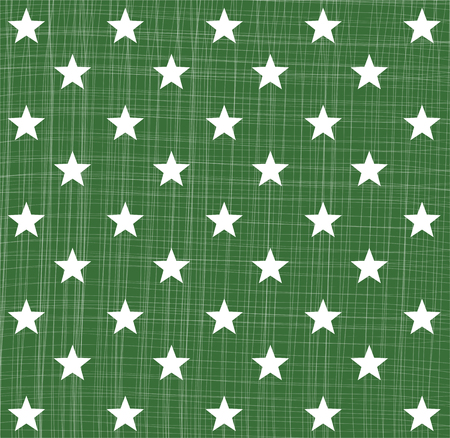 star pattern: Green star pattern Illustration