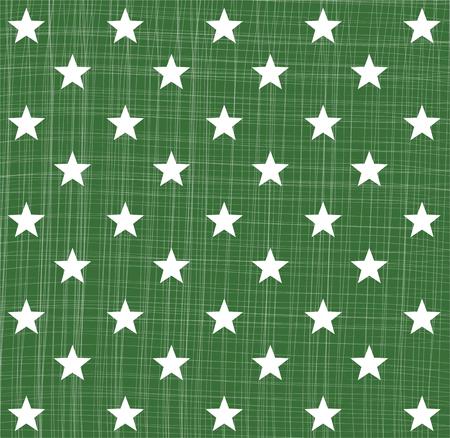 star pattern: Green star pattern Illustration