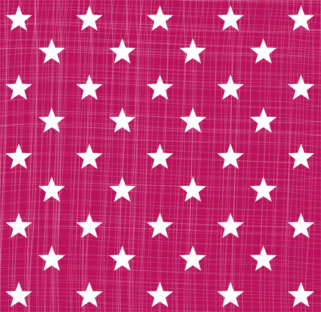 christmassy: Pink star pattern