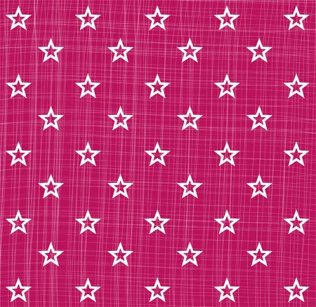 christmas motif: Pinkt white star pattern