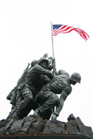 statue: Kriegerdenkmal von Arlington