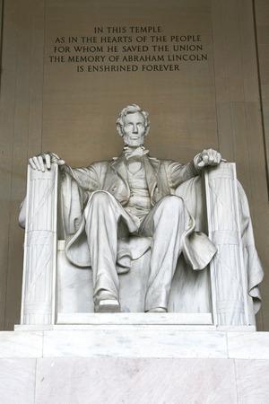 lincoln: Lincoln Statue Stock Photo