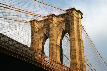 reisen: New York Brooklyn Bridge