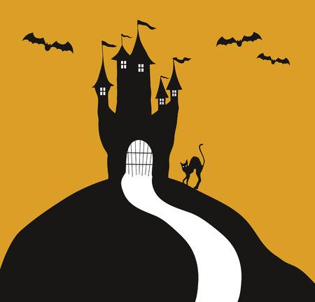 corcovado: Halloween Castillo