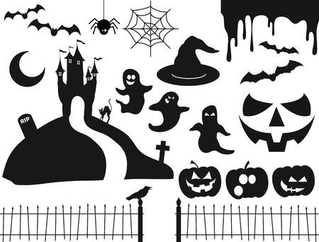 Halloween Vector Pack 2 Illusztráció