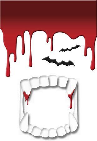 vampire teeth: Halloween Dracula
