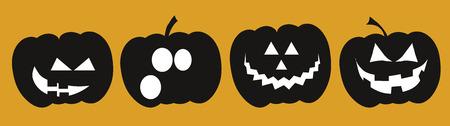 triangular eyes: Halloween Pumpkins