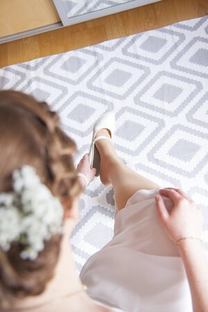 fidelidad: Shoes on the wedding day