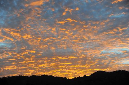 Sun rise dawn