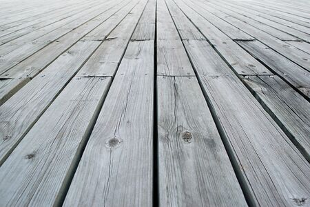 old wood floor: white, grey wood texture. background old floor. Stock Photo