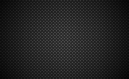 Carbon fiber plain weave background. EPS 10 vector. Illustration